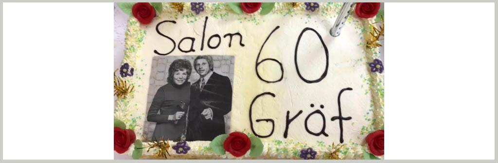 "Salon Gräf ""Tradition & Moderne"" – 60 Jahre Jubiläumsfest"