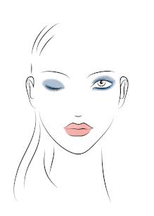 Friseur-Karben-La-Biosthetique-Make-up-Collection-Spring-Summer-2019-Modern-Blue